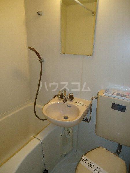 エステートピア岩崎台 207号室のトイレ