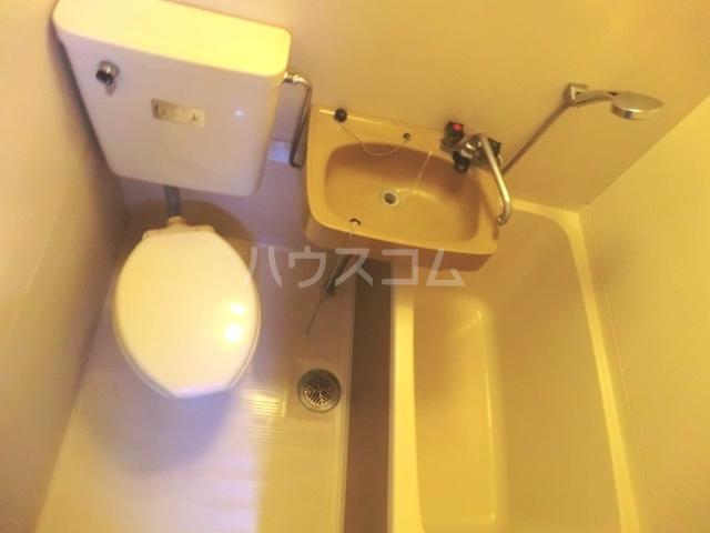 神作シティー 2B号室の洗面所
