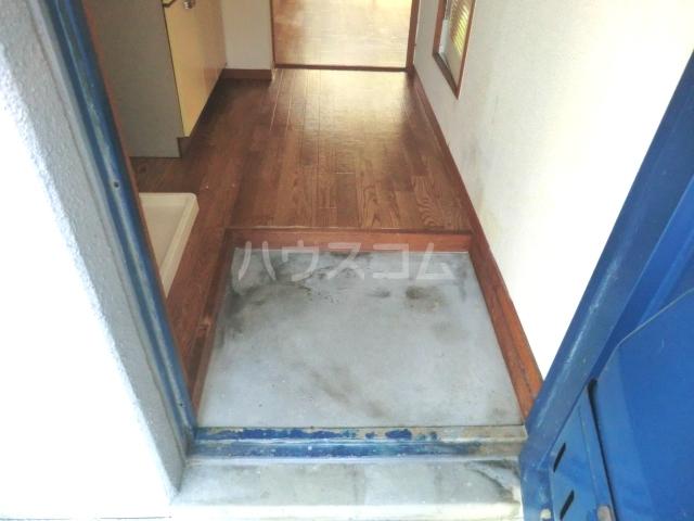 神作シティー 2B号室の玄関