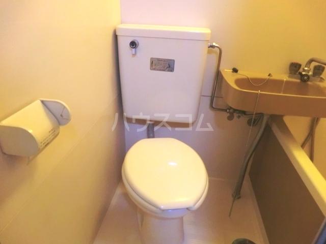 神作シティー 2B号室のトイレ