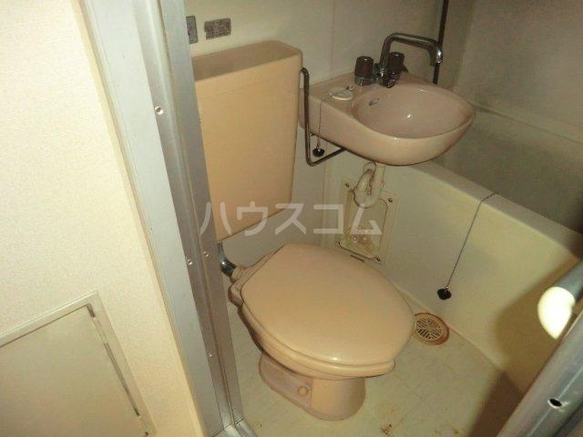 レモンハイム 1D号室のトイレ