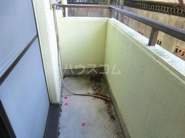 レモンハイム 1D号室のバルコニー