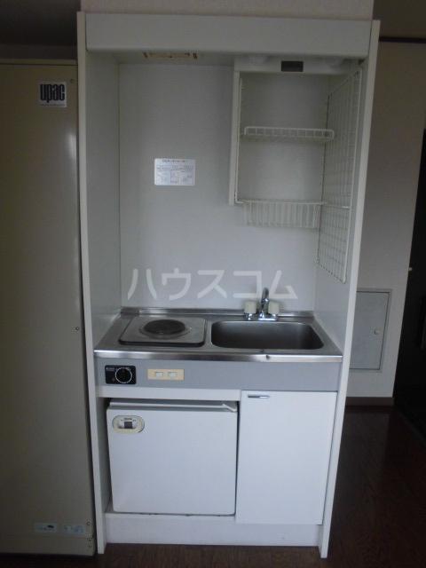 レモンハイム 2A号室のキッチン
