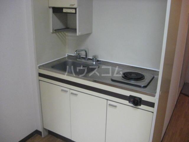 ラフォーレひらとA棟 206号室のキッチン