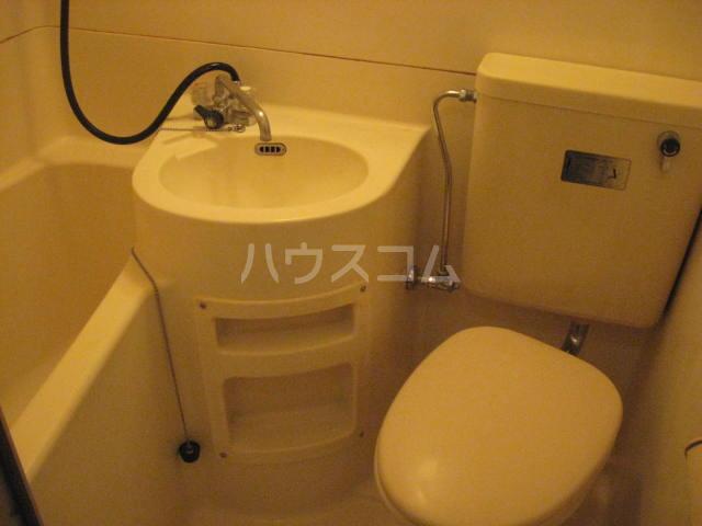 ラフォーレひらとA棟 206号室の風呂