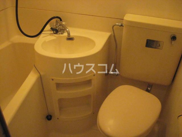 ラフォーレひらとA棟 206号室のトイレ