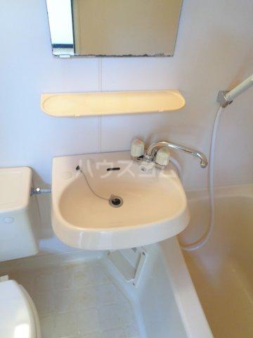 ニューコート高根台 104号室の洗面所