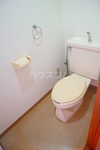 リバーハイツ 206号室のトイレ