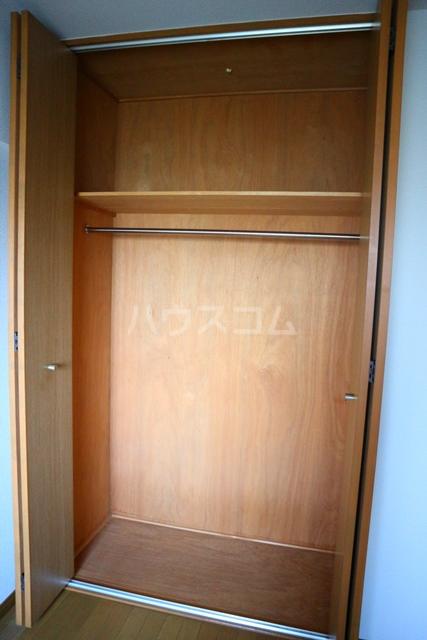 リバーハイツ 206号室の収納