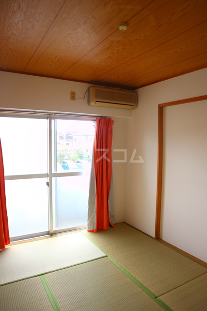 リバーハイツ 206号室のベッドルーム