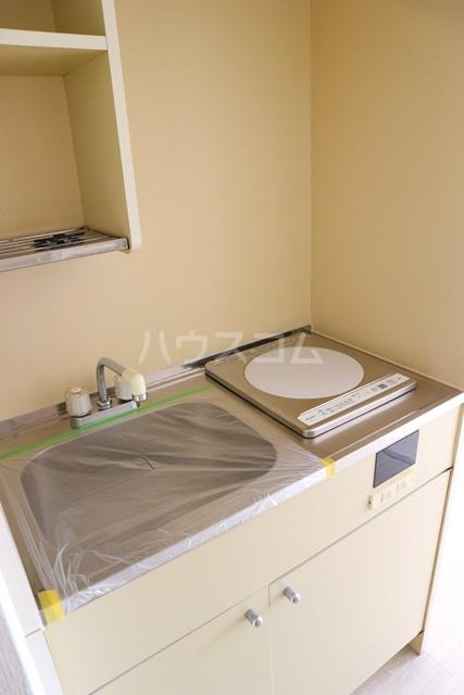 スカイコート蕨 401号室のキッチン