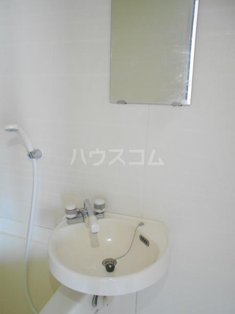 錦町マンション 3-D号室の洗面所