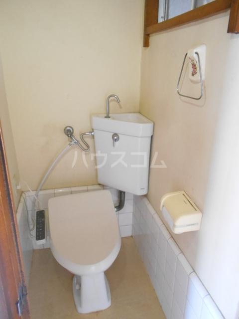 錦町マンション 3-D号室のトイレ