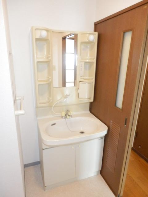 パレスアゼリア 206号室の洗面所