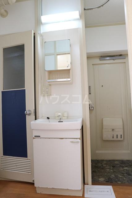 塚越パークハイツ 302号室の洗面所