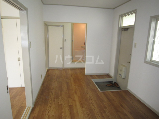ホシノハイツB 101号室の玄関