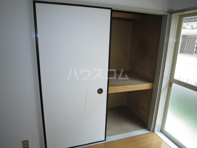 ホシノハイツB 101号室の収納