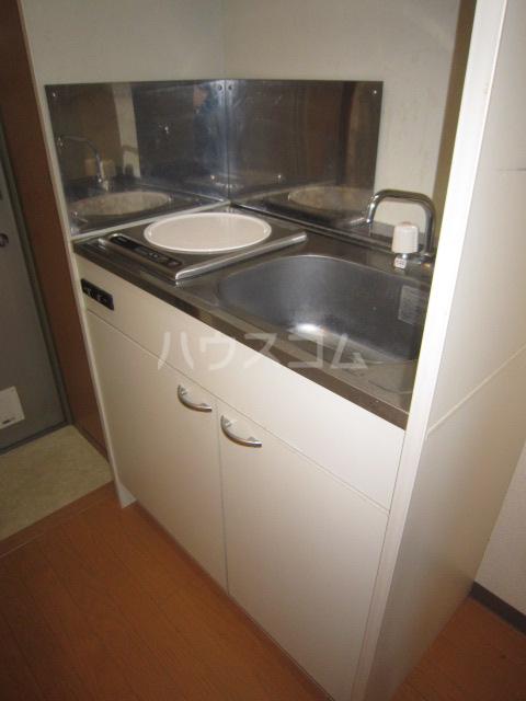 ルミナス 102号室のキッチン