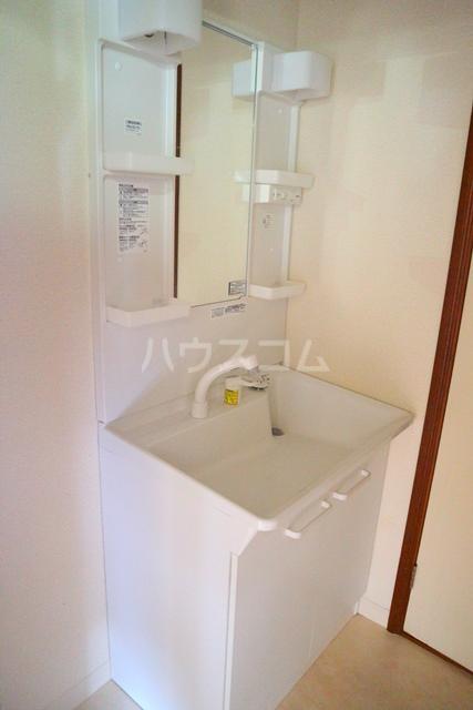メゾンアルファ A202号室の洗面所