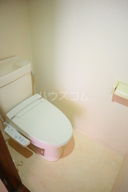 メゾンアルファ A202号室のトイレ