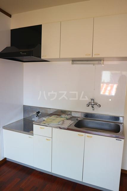 メゾンアルファ A202号室のキッチン