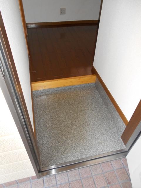第8笑和ハイツ 201号室の玄関