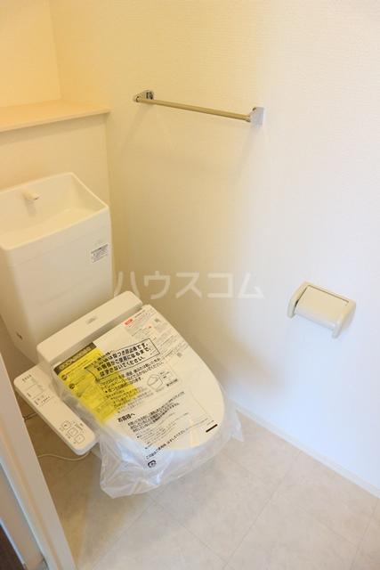 めぞん・ど・ラポール 101号室のトイレ