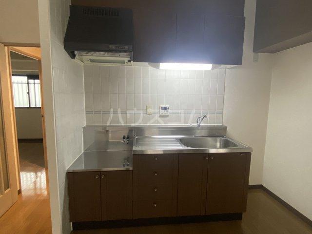 スクエアKⅢ 306号室のキッチン
