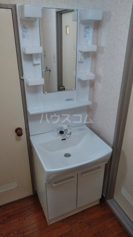 ニューハイムタヒラ 201号室の洗面所