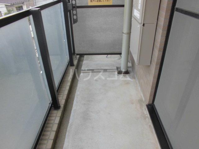 セレノ荻窪 204号室のバルコニー