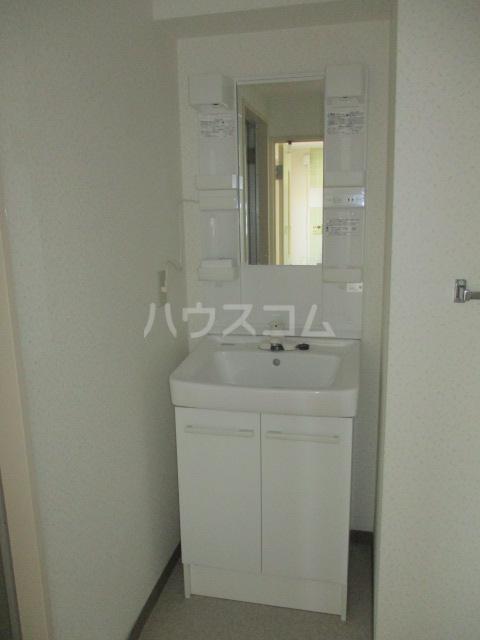 エイタイマンション 203号室の洗面所