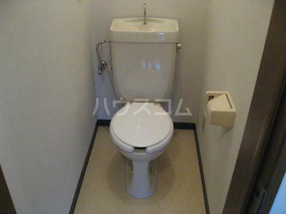 桃井1号館 203号室のトイレ