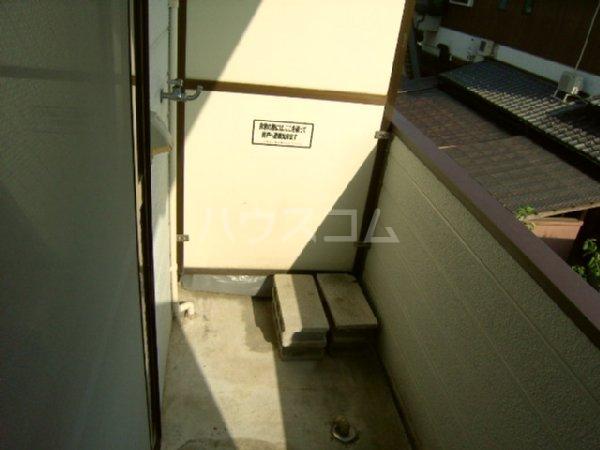 コーポ今川8 107号室のバルコニー