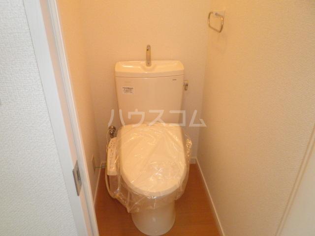シルバーハイム 205号室のトイレ