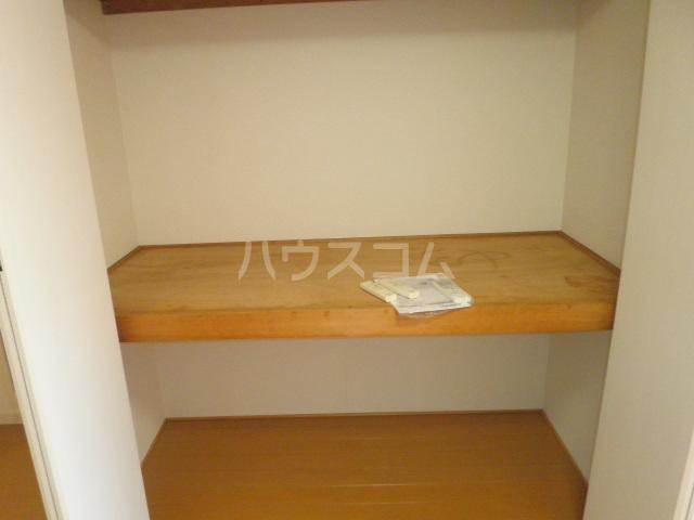シルバーハイム 205号室の収納