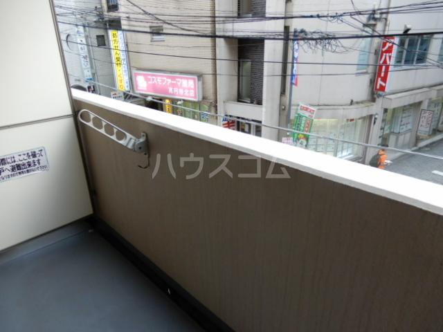 クレスト高円寺 203号室のバルコニー