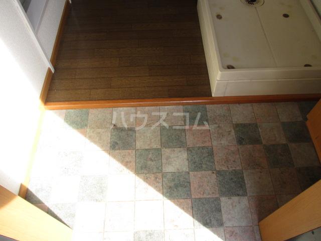 メゾンビフォア 207号室の玄関
