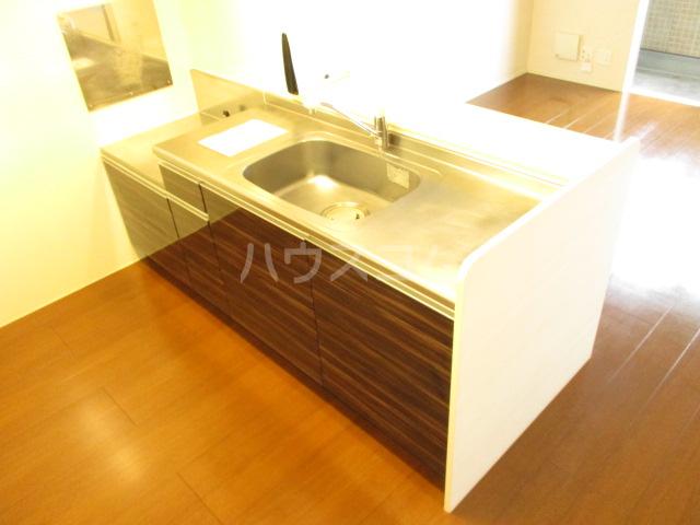 オルテンシアA A202号室のキッチン