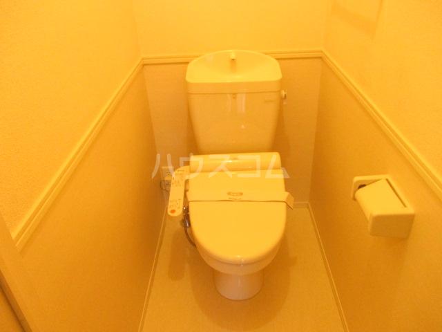 オルテンシアA A202号室のトイレ