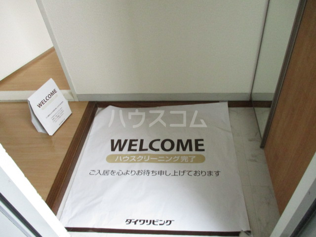 ファミールタヤマ A 102号室の玄関