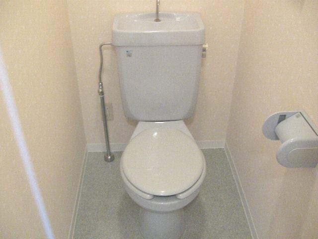 ウッドサイド浦和 503号室のトイレ