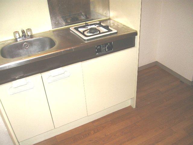 与野第三宝コーポ 107号室のキッチン