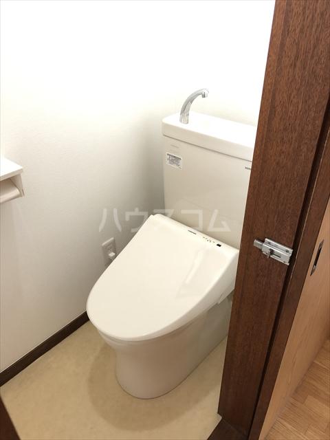クラインハイツ 301号室のトイレ