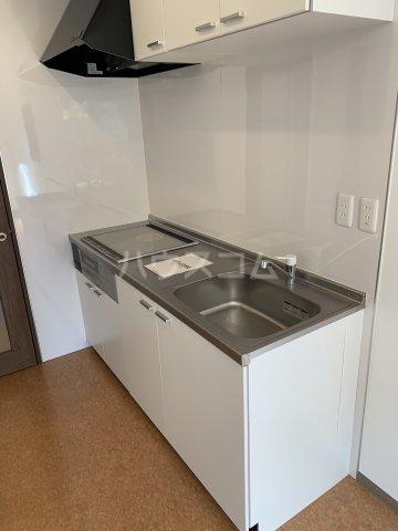 中尾コンセプトハウス B104号室のキッチン