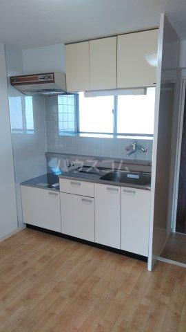ニューグリーンハイツ 302号室のキッチン