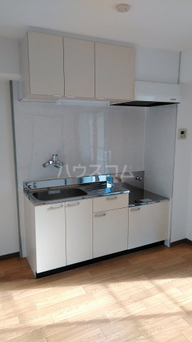 エメラルドマンション 202号室のキッチン