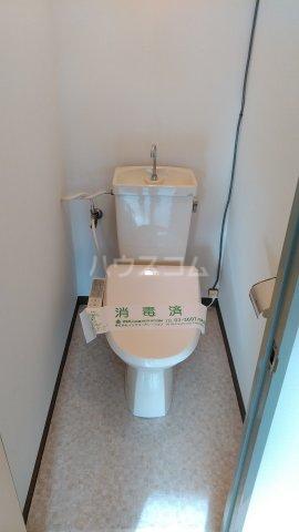 エメラルドマンション 202号室のトイレ
