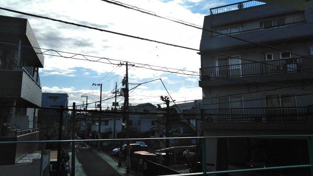 エメラルドマンション 202号室の景色