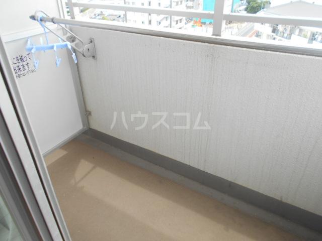 スカイコート新小岩 1202号室のバルコニー