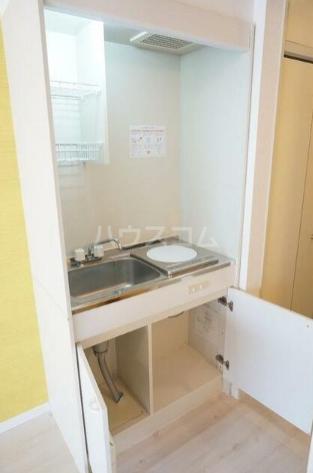コーポリバーサイド 102号室のキッチン